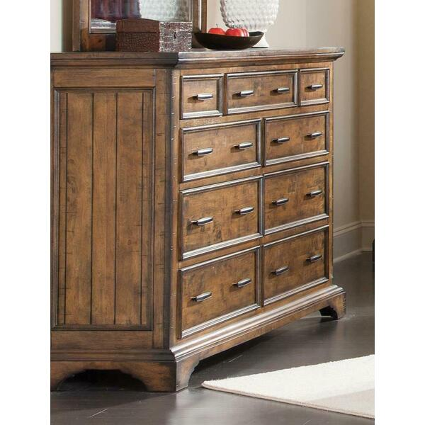 See Details - Elk Grove Rustic Nine-drawer Dresser