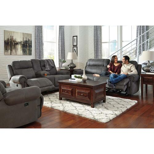 Austere 2 Seat Reclining Sofa Gray