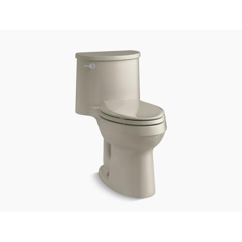 Sandbar One-piece Elongated 1.28 Gpf Chair-height Toilet With Quiet-close Seat