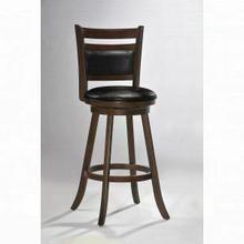 """ACME Tabib Bar Chair w/Swivel (1Pc) - 96086 - Cappuccino - 29"""" Seat Height"""