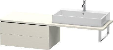 Low Cabinet For Console, Taupe Matte (decor)