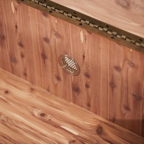 Bedside Bench W/storage