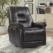 View Product - CARNEGIE - VERONA COFFEE Power Cordless Swivel Glider Recliner