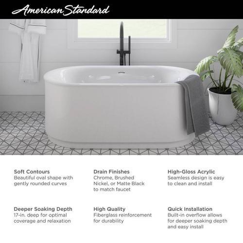 American Standard - Studio S Freestanding Tub  American Standard - White