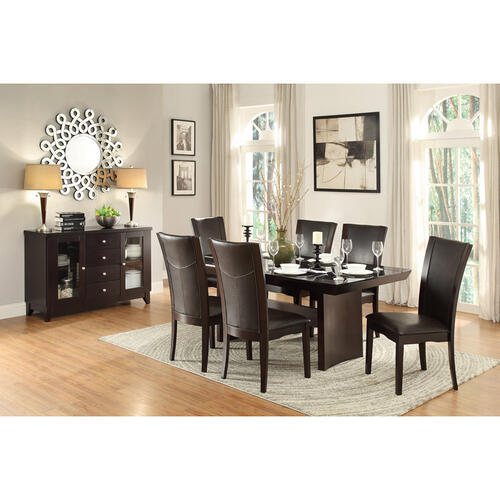 Gallery - Dining Table, Glass Insert