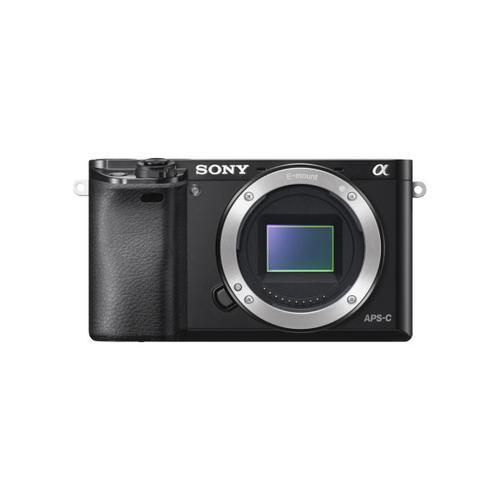 Sony - Alpha 6000 APS-C Mirrorless Interchangeable Lens Camera - Black