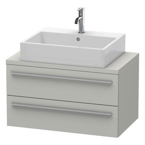 Duravit - Vanity Unit For Console Compact, Concrete Gray Matte (decor)