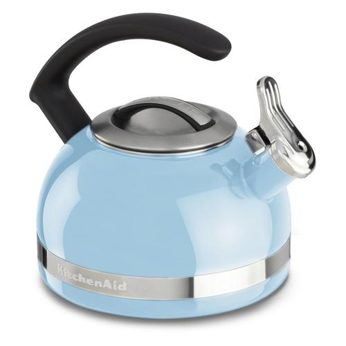 2.0-Quart Stove Top Kettle with C Handle Cameo Blue