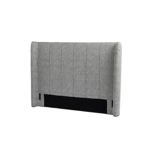 Four Hands - King Size Bristol Charcoal Cover Dixon Headboard