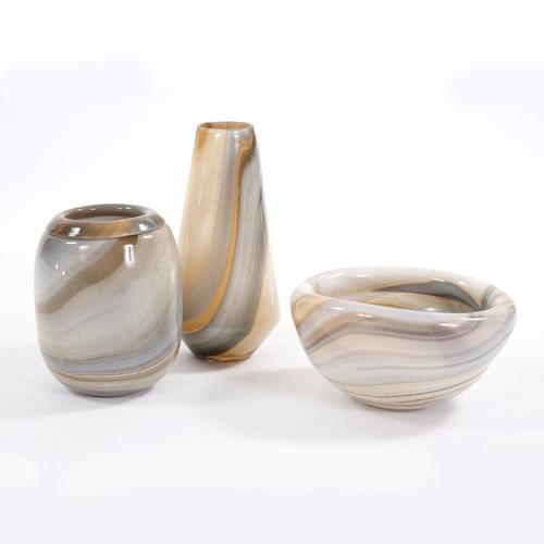 Howard Elliott - Sand Art Glass Vase