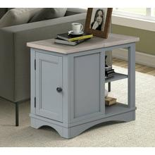View Product - AMERICANA MODERN - DOVE Chairside Table