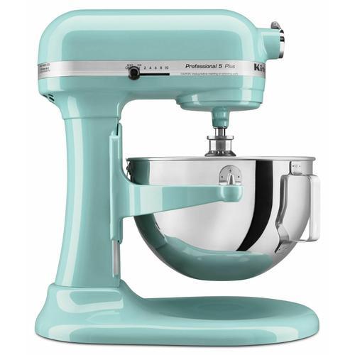 KitchenAid - Professional 5™ Plus Series 5 Quart Bowl-Lift Stand Mixer - Aqua Sky