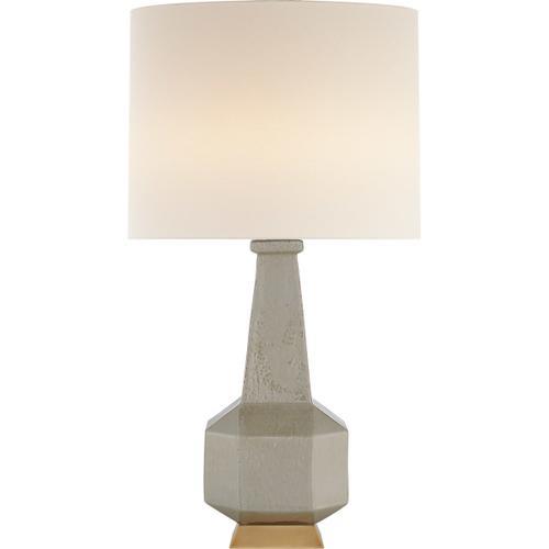 AERIN Babette 30 inch 60 watt Shellish Gray Table Lamp Portable Light