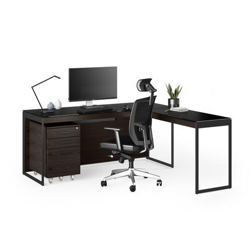 BDI Furniture - Sequel 20 6112 Return in Charcoal Black