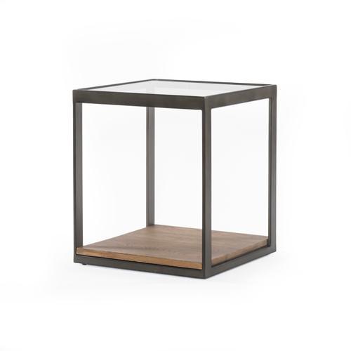 Carlson End Table-monument Grey