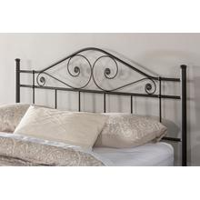Harrison Full/queen Headboard - Textured Black