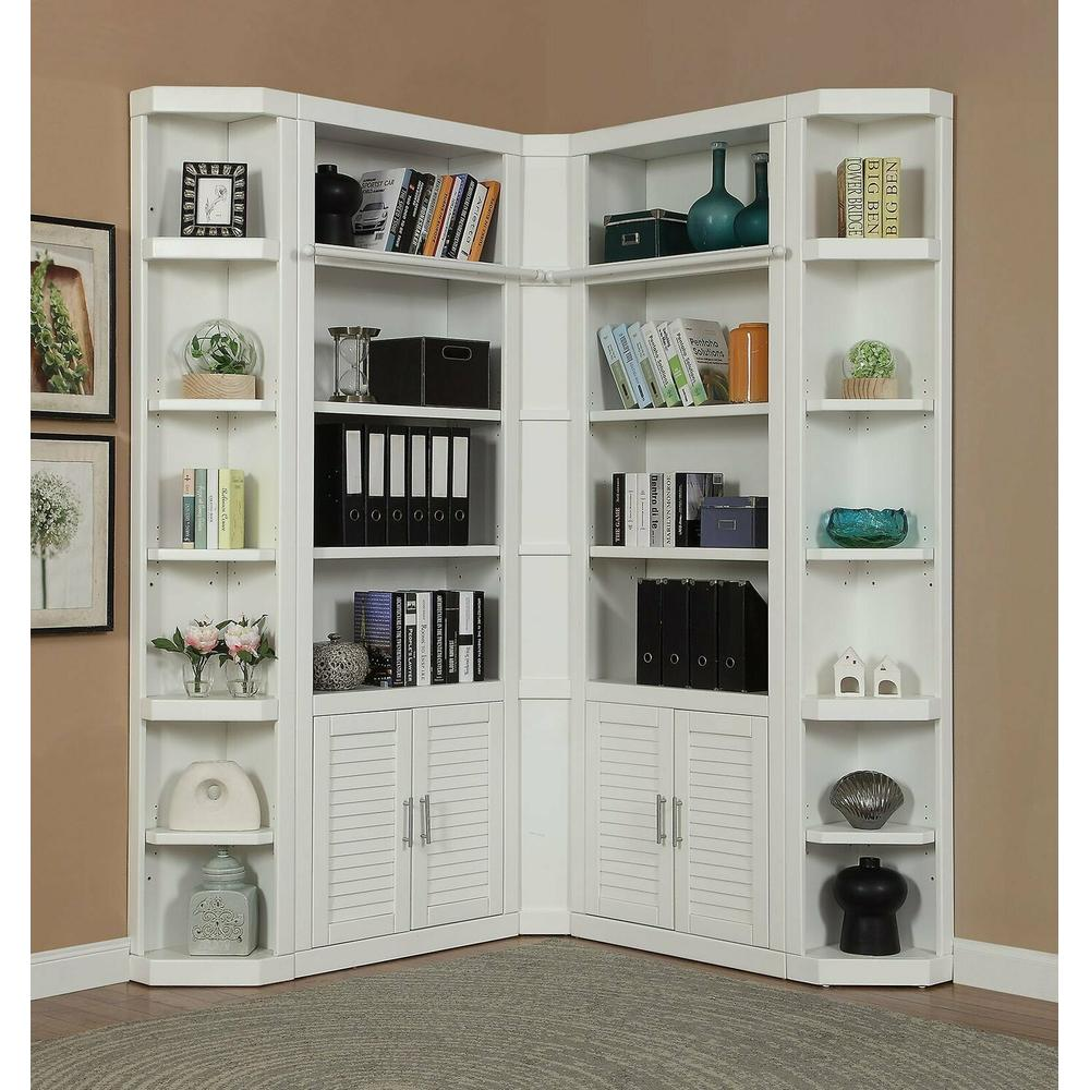 See Details - CATALINA 5 Piece Corner Library Wall