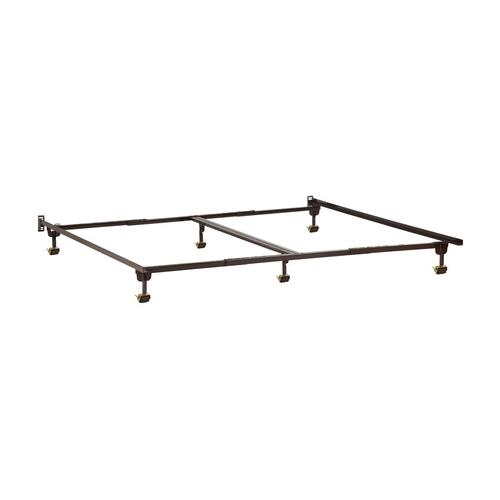 Metal Bed Frame T/F-TXL-Q-CK-K with Rollers