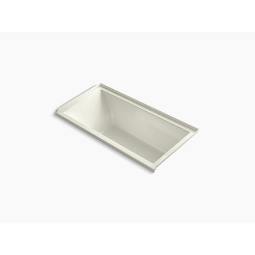 """Biscuit 60"""" X 30"""" Heated Whirlpool Bath With Right Drain"""