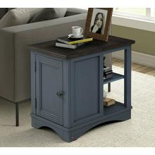 View Product - AMERICANA MODERN - DENIM Chairside Table