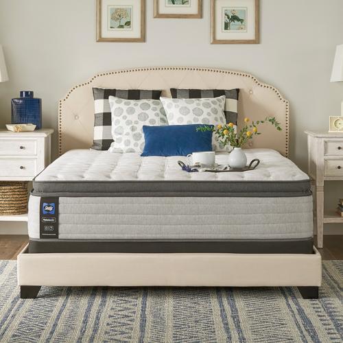 Sealy - Garner II - Euro Pillow Top - Soft - Split Cal King