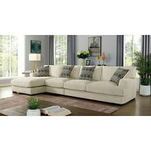 See Details - Kaylee Large L-Shaped Sectional (Left Chaise)