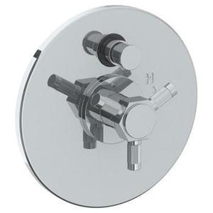 """Wall Mounted Pressure Balance Shower Trim With Diverter, 7"""" Dia. Product Image"""
