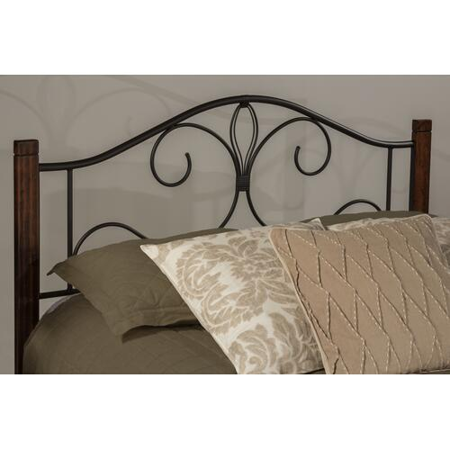 Destin King Bed With Frame - Brushed Cherry