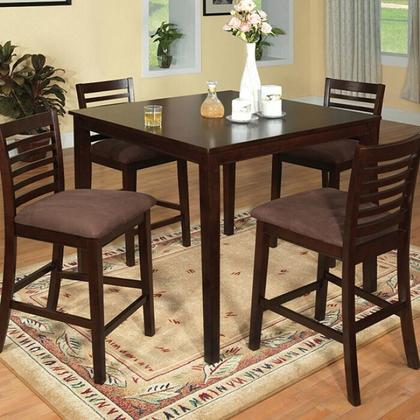 See Details - Eaton 5 Pc. Counter Ht. Table Set