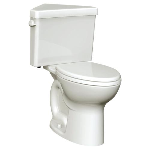 Triangle Cadet 3 Corner Elongated Toilet - 1.6 GPF - White