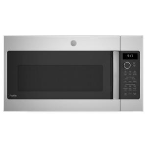 GE Profile™ 1.7 Cu. Ft. Convection Over-the-Range Microwave Oven Product Image