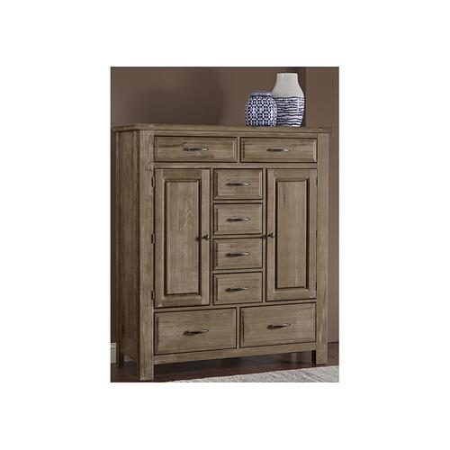 Artisan & Post Solid Wood - Sweater Chest - 8 Drawers and 2 Doors