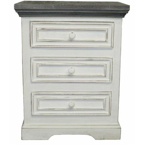Million Dollar Rustic - Ww/123a Oasis 3 Drawer Night Stand