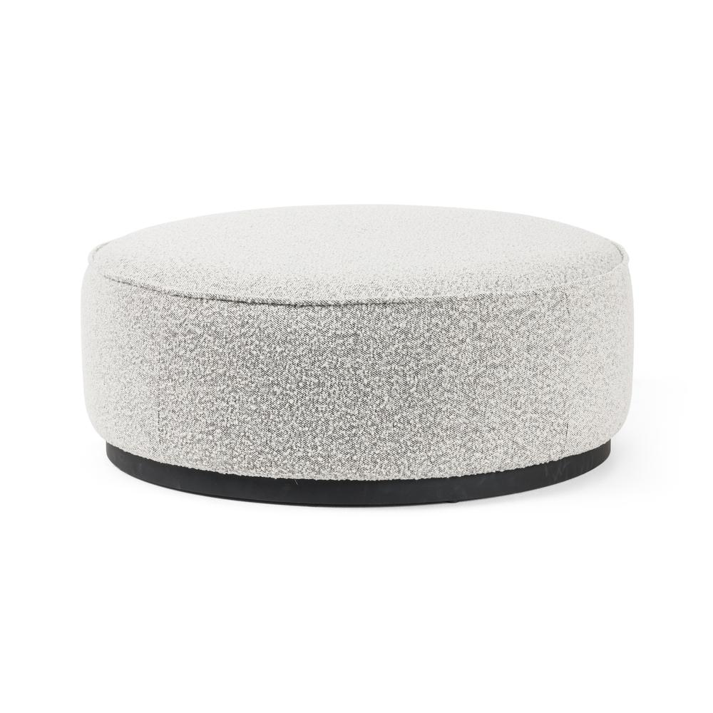 See Details - Knoll Domino Cover Sinclair Large Round Ottoman