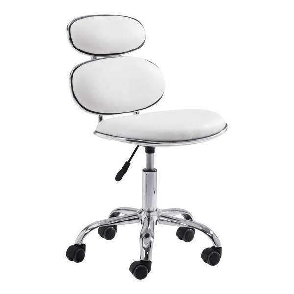 See Details - Iris Office Chair White