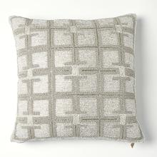 See Details - Beaded Pillow-Moonlight/Silver