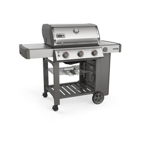 Weber - GENESIS II S-310 Gas Grill Stainless Steel Natural Gas