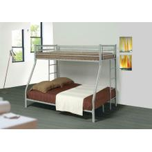 Denley Metal Twin-over-full Bunk Bed