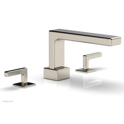 MIX Deck Tub Set - Lever Handles 290-41 - Polished Nickel