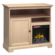 See Details - FT46B Extra Tall Fireplace Custom TV Console