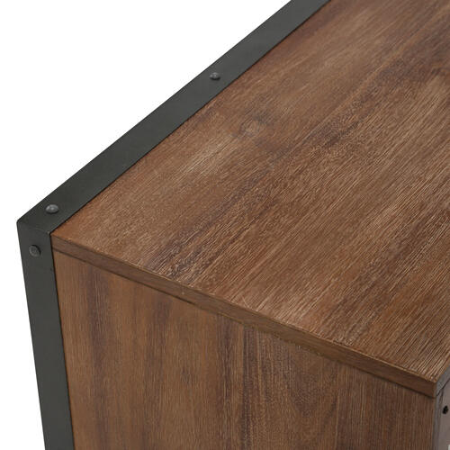 Accent Cabinet-night Stand-end Table 2 Drawers