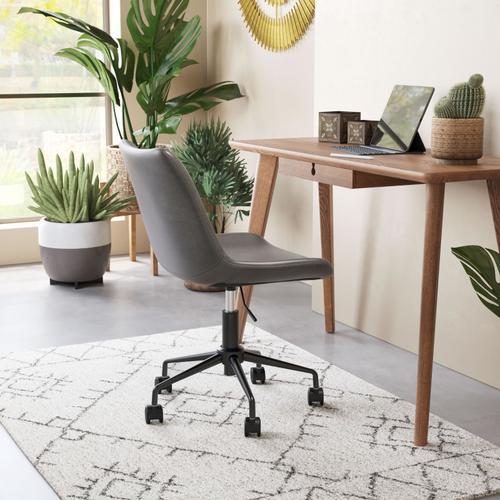 Zuo Modern - Byron Office Chair Gray