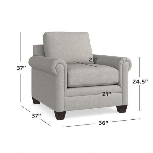 Carolina Panel Arm Chair