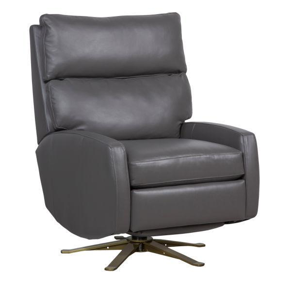 Reclination Aspire Power Swivel Recliner W/ 5 Prong Base