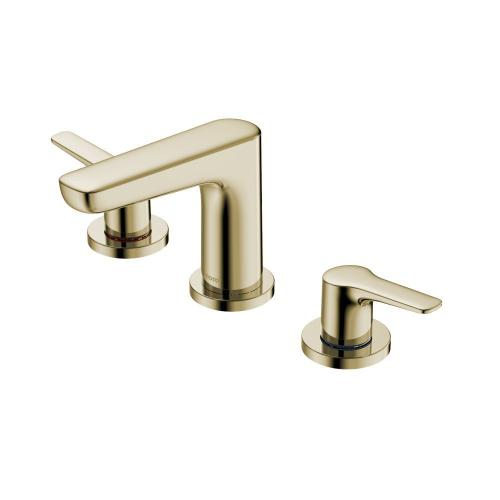 GS Widespread Faucet - 1.2 GPM - Polished French Gold MTO