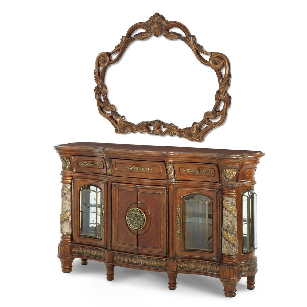 See Details - Sideboard & Mirror (2 Pc)