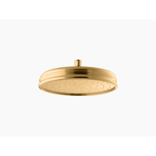 "Vibrant Brushed Moderne Brass 10"" Rainhead With Katalyst Air-induction Technology, 2.5 Gpm"