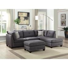 LAURISSA CHARCOAL RF SEC.SOFA
