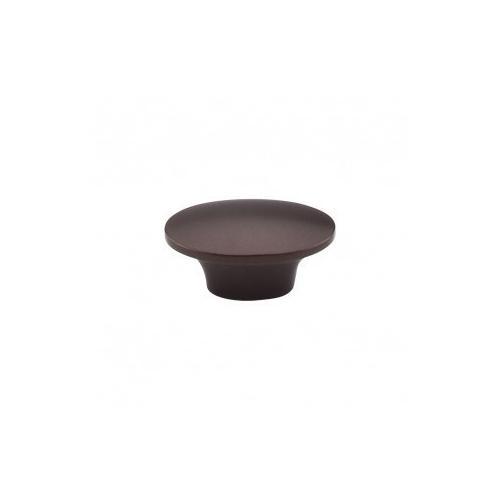 Dakota Oval Knob 1 1/2 Inch - Oil Rubbed Bronze