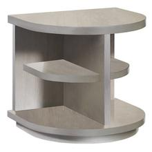 End Table - Pearlized Gray Finish
